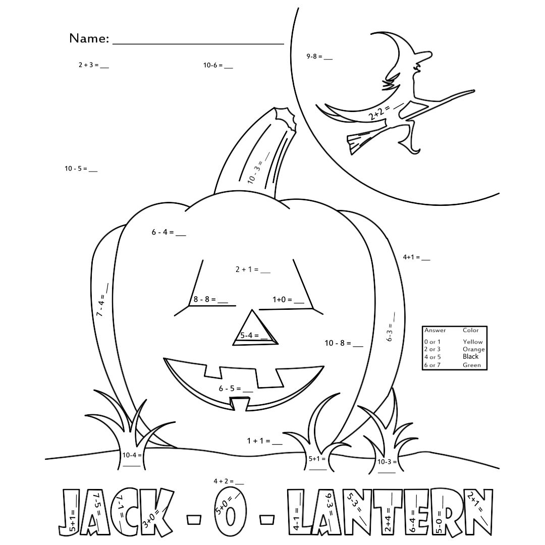 Free Halloween Printable Worksheets Math Halloween Comstume – Pumpkin Math Worksheets Kindergarten
