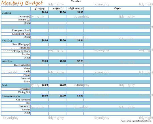 best photos of bill payment organizer template excel bill