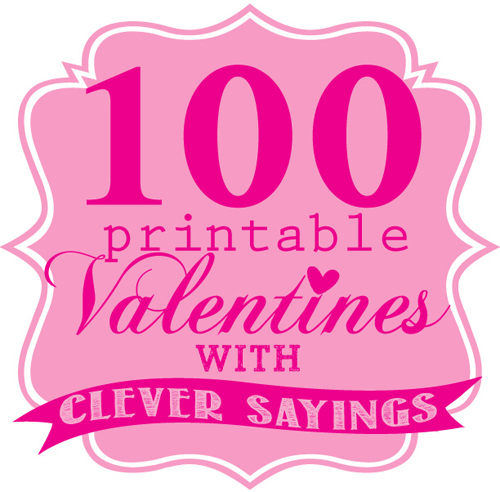 8 Images of Printable Valentine Day Card Saying