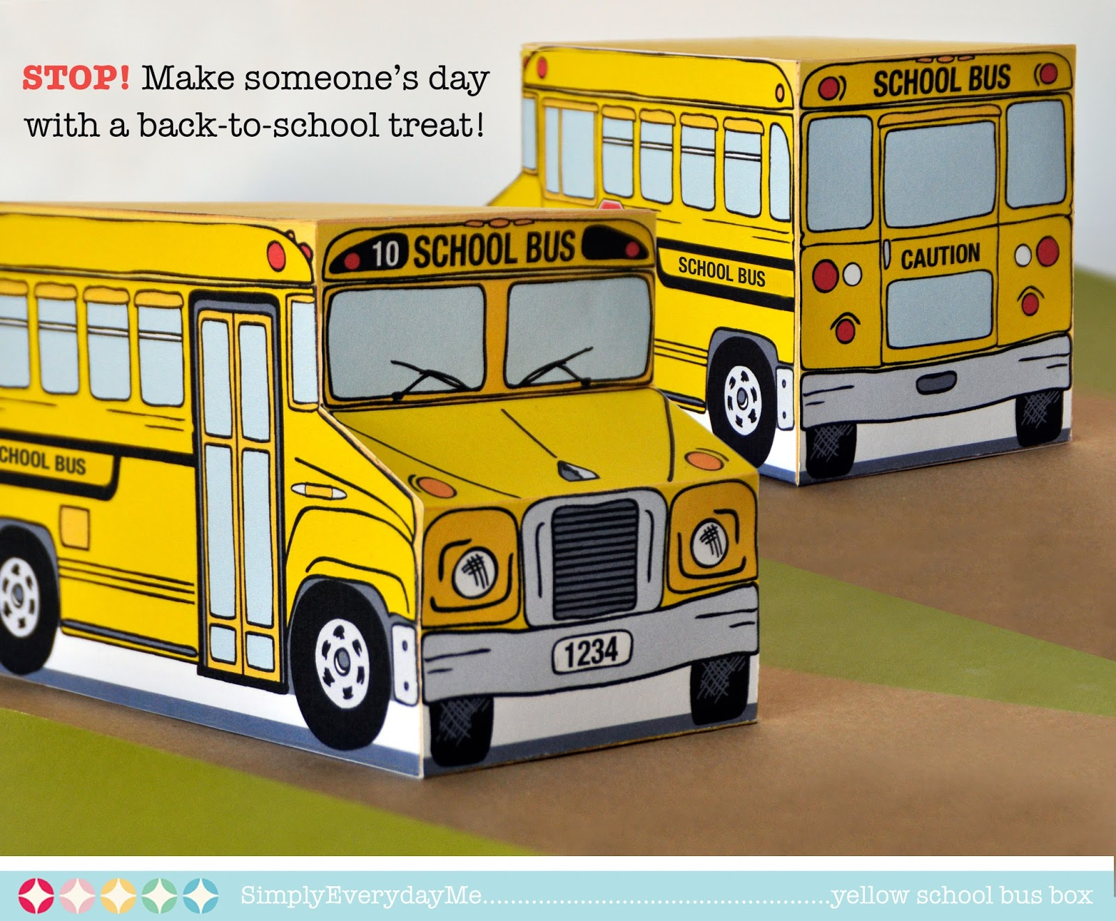 5 Images of Yellow School Bus Printable
