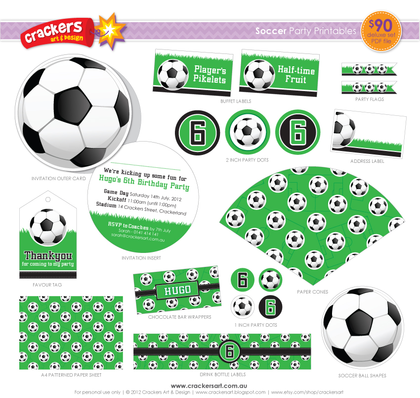 8 Images of Free Soccer Printables