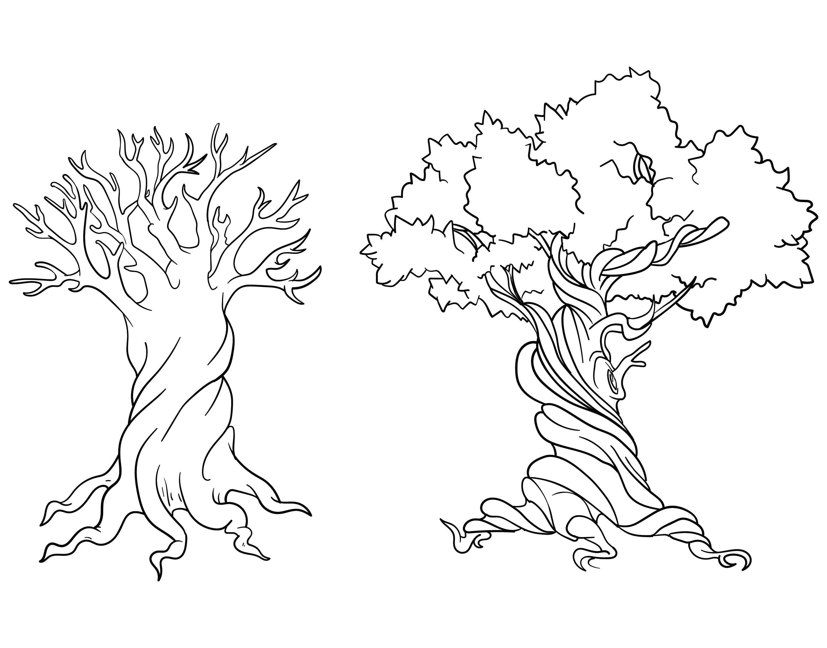 Tree Tattoo Stencils Printable