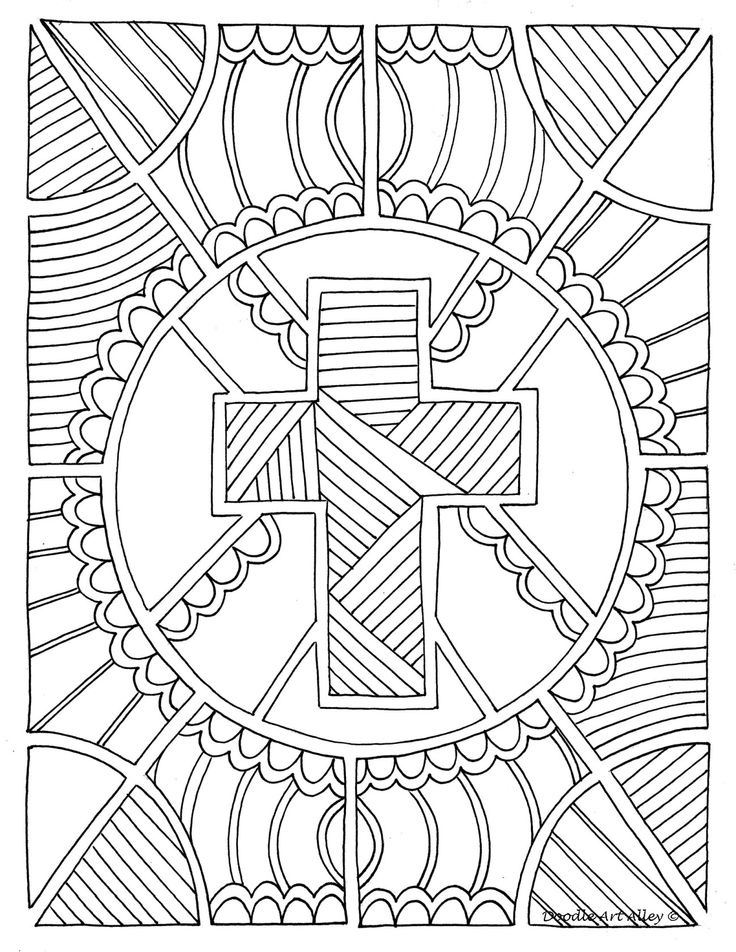 4 Best Images Of Free Printable Adult Coloring Pages Christian