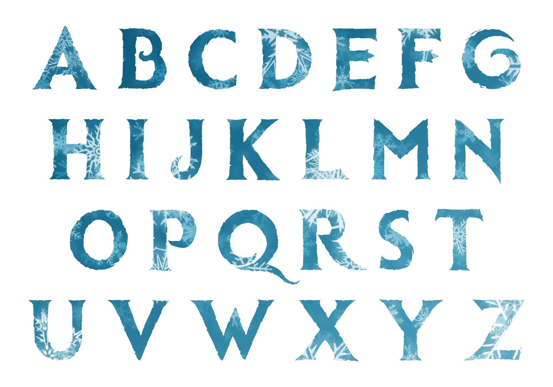 Disney Frozen Font Free