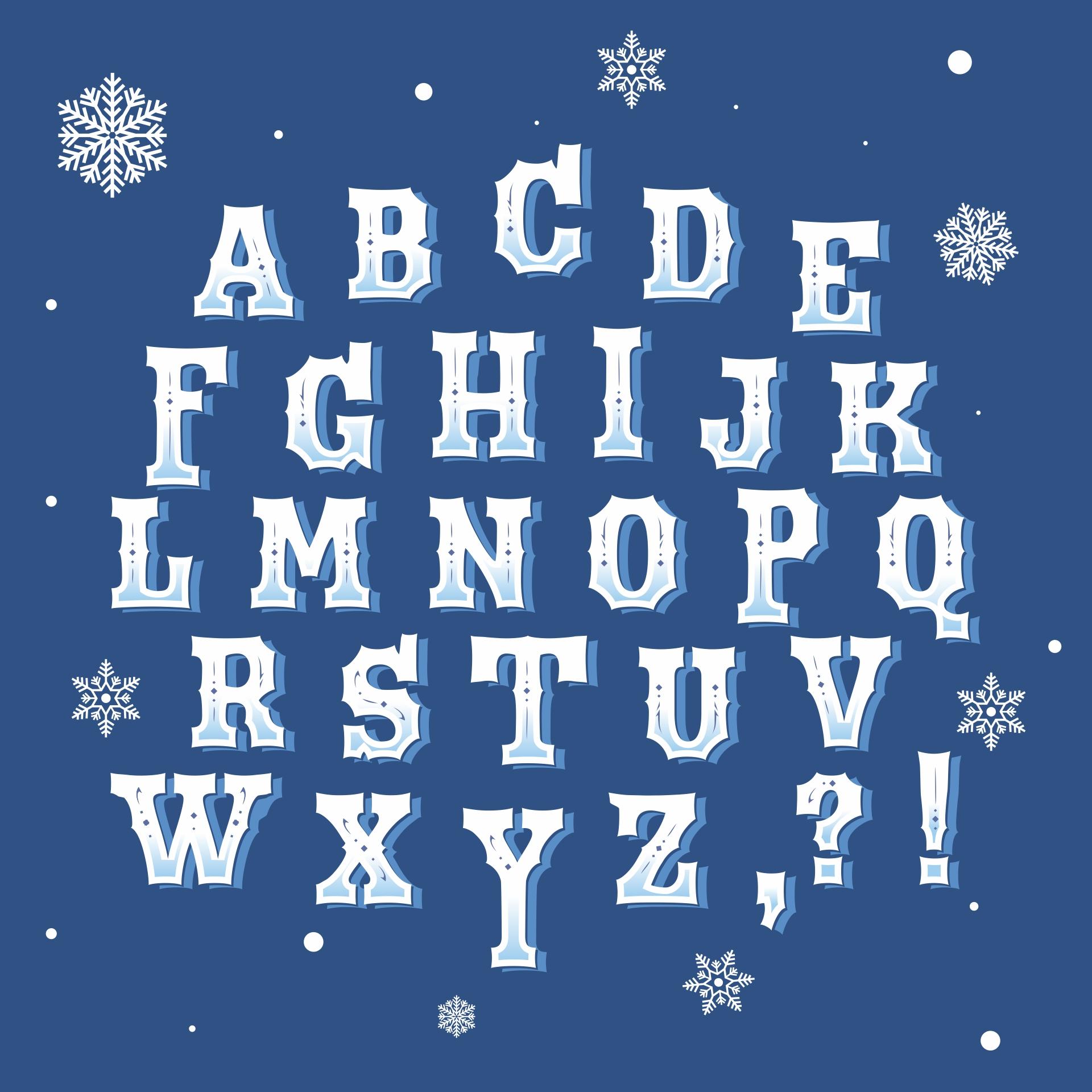 Disney Frozen Printable Alphabet Letters