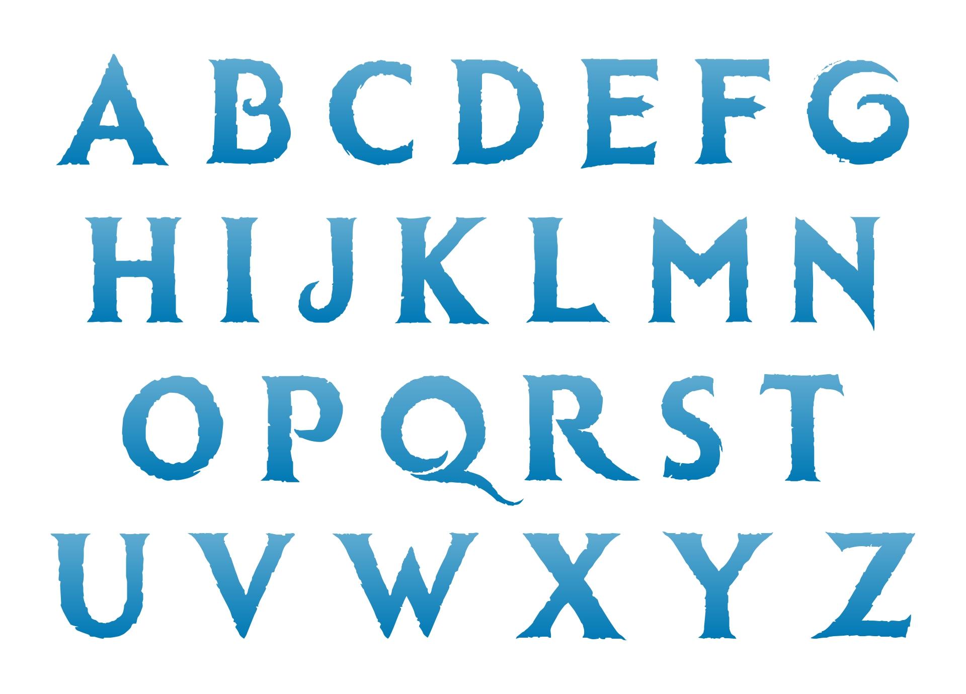 Disney Frozen Printable Letters