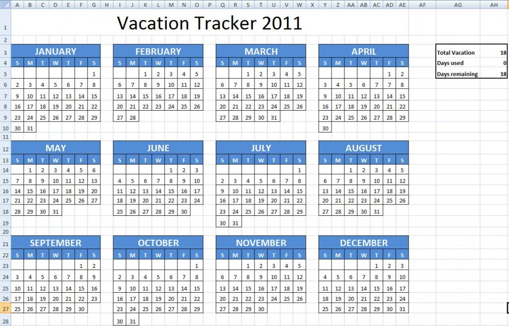 Calendar Template 2015, Free Printable Employee Attendance Calendar ...