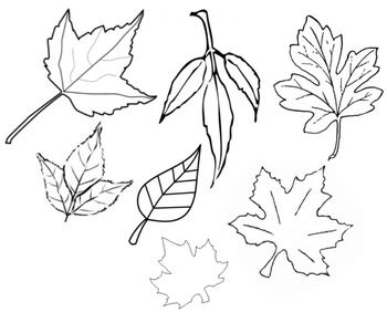 6 Best Images of Fall Printable Paper Cut Outs