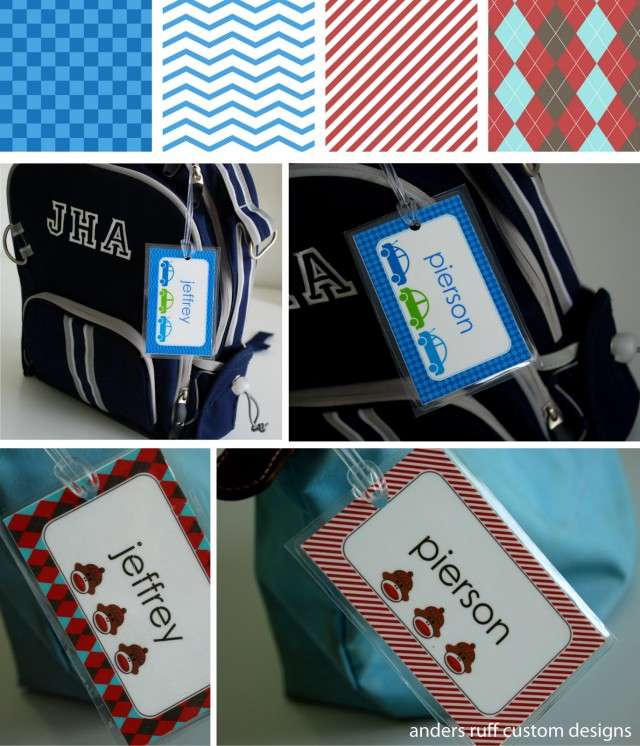 Printable Bag Tag