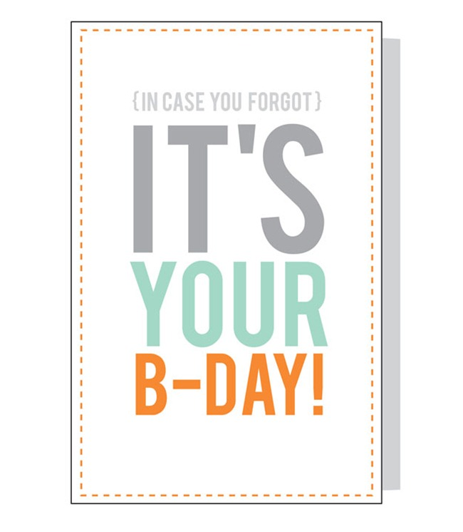 Printable Birthday Cards for Him
