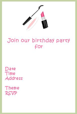 Free Printable Birthday Invitations Adults