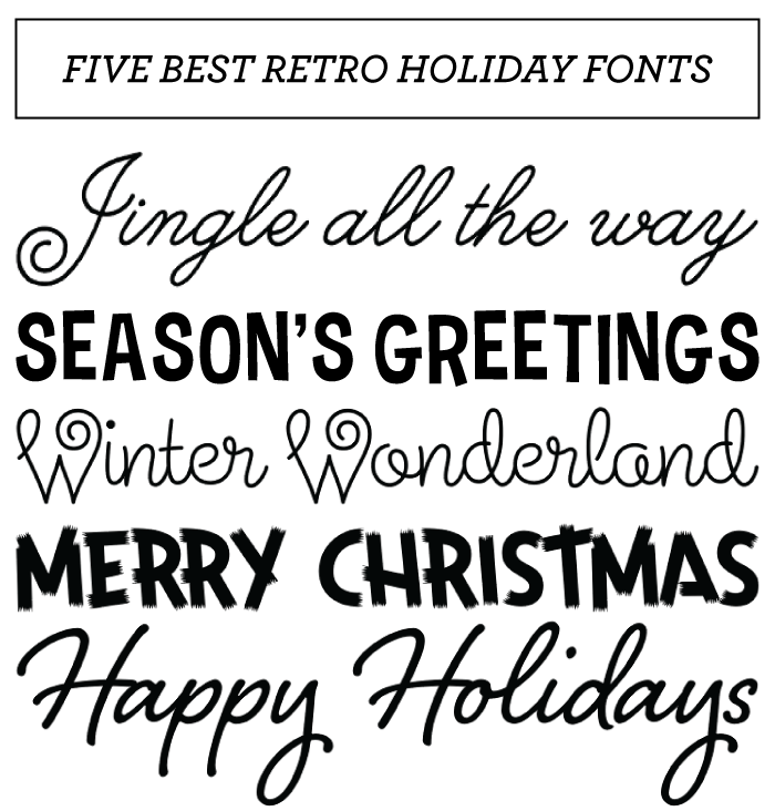 7 Images of Printable Free Christmas Fonts