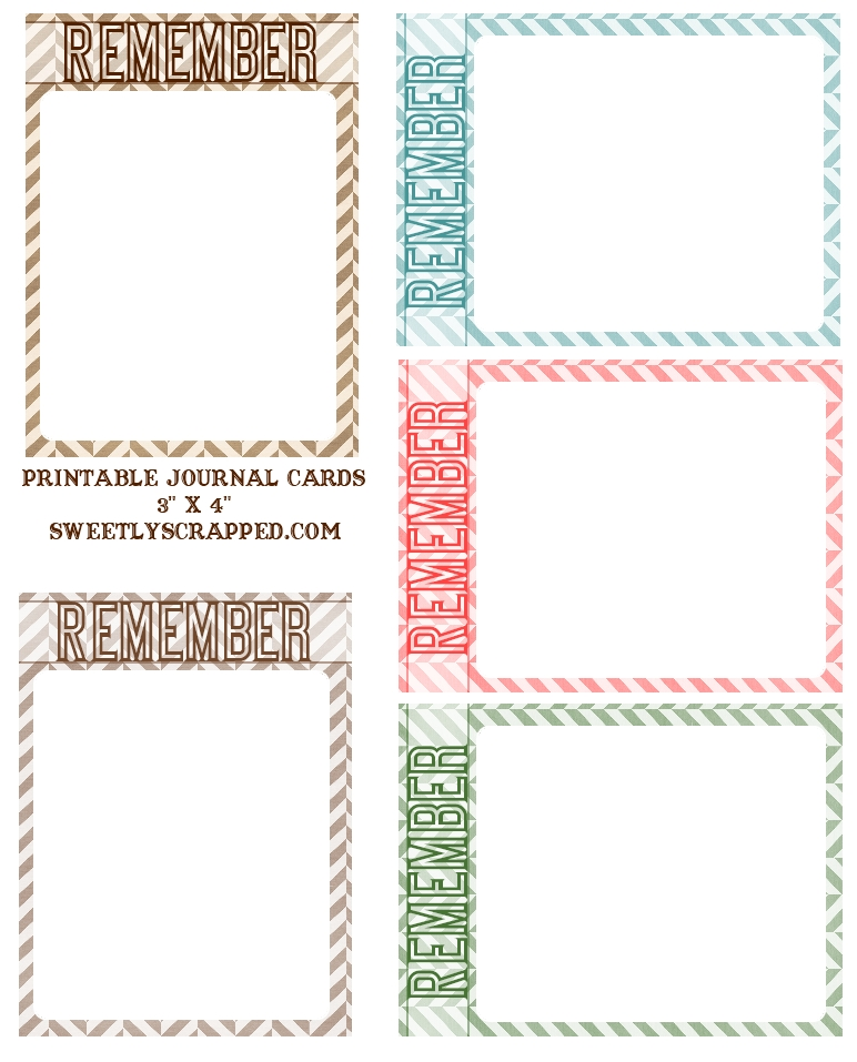 6 Best Images Of Art Journal Templates Printable