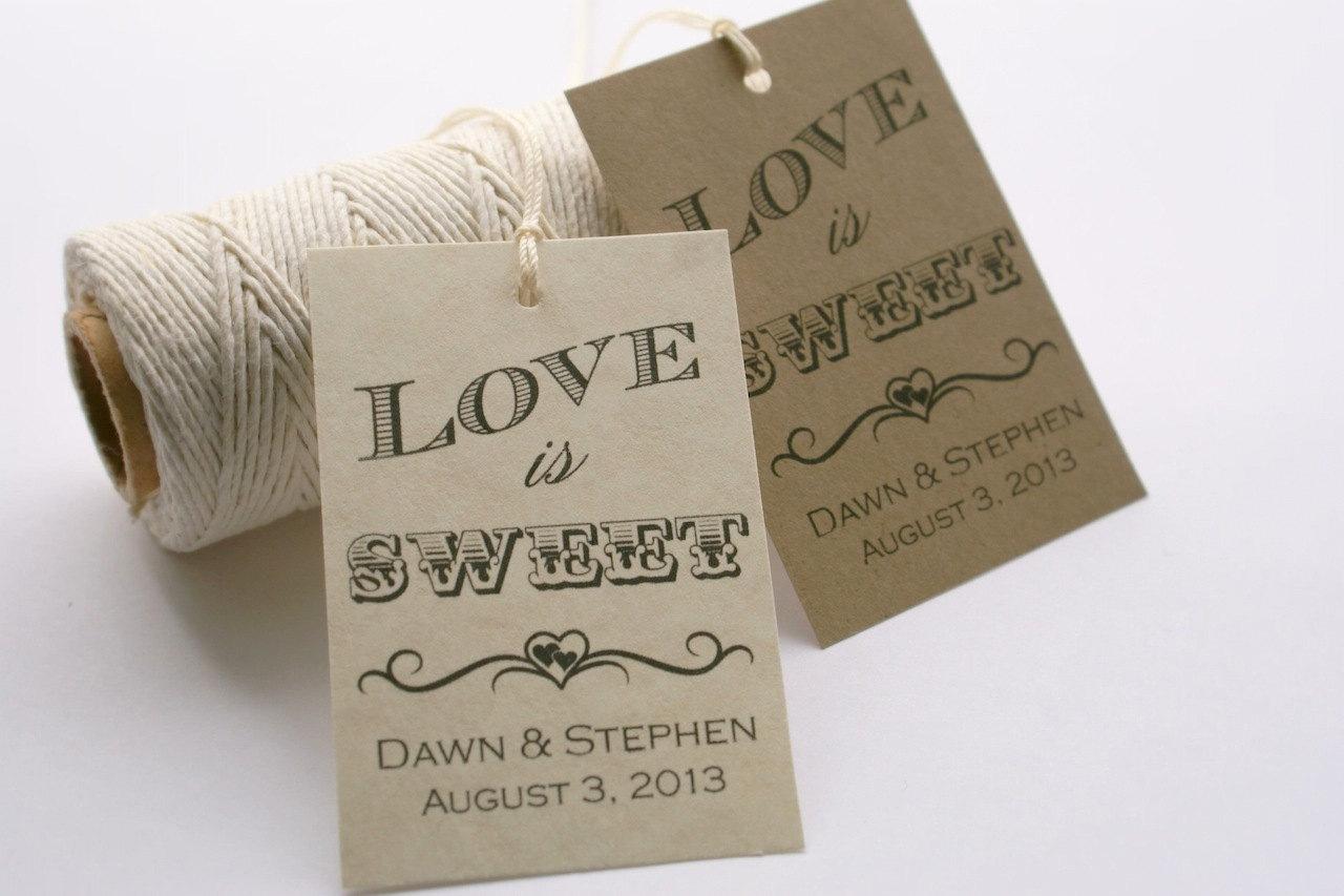 Wedding Favor Tags Printable, Wedding Favor Tags Printable & Wedding ...