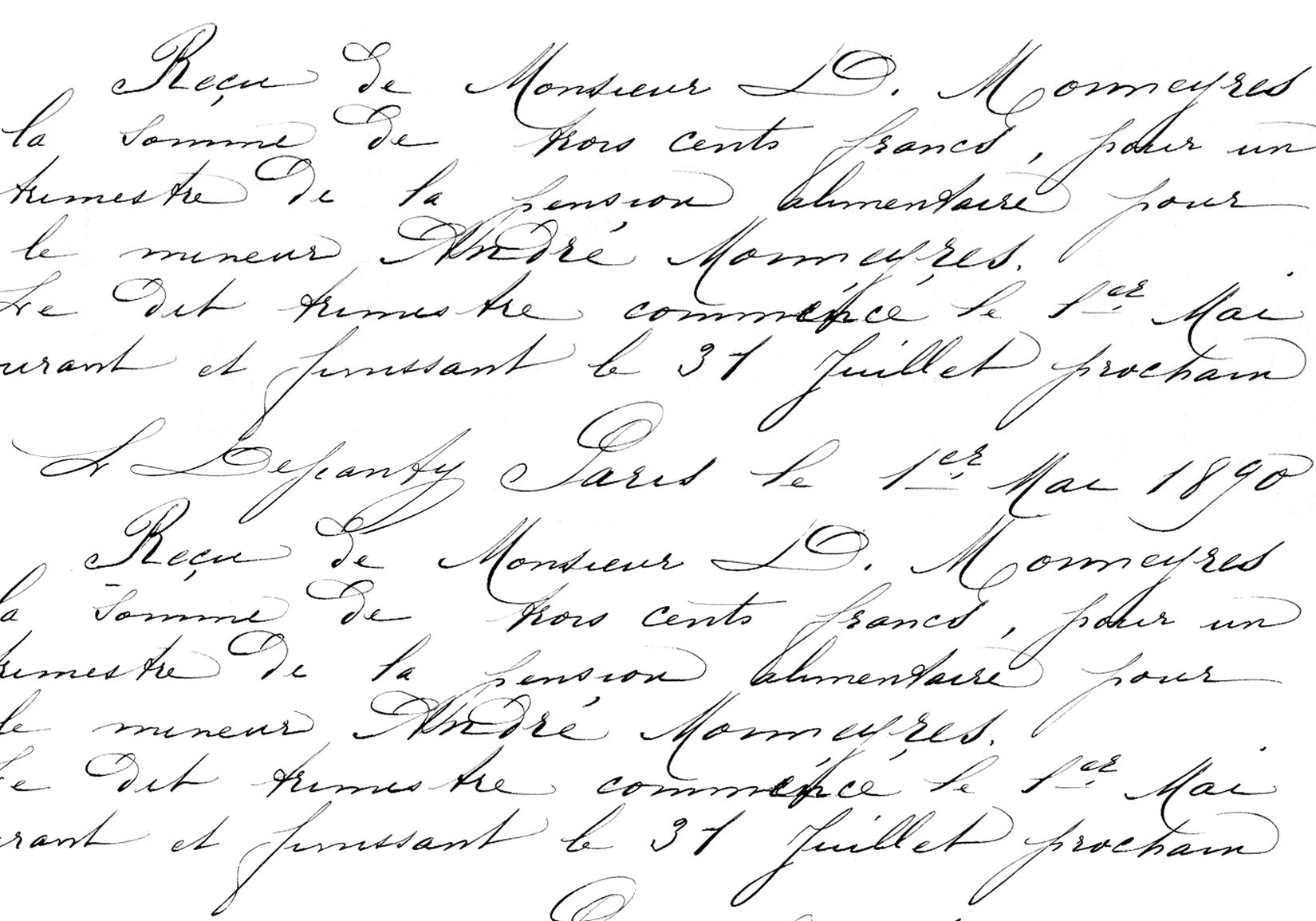 7 Images of Printable French Transfer Handwriting