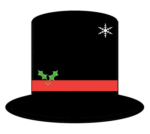5 Images of Printable Frosty The Snowman Hat