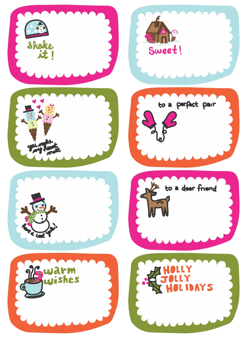 Funny Christmas Gift Tags 8 best images of funny christmas gift tags ...