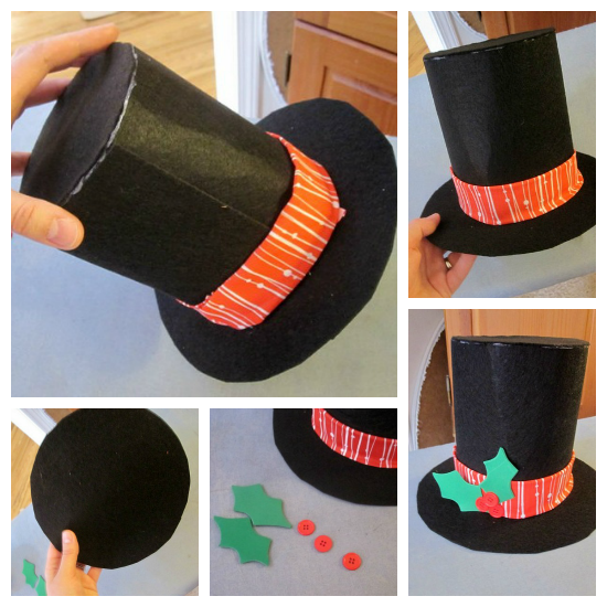 How To Make A Top Hat Out Of Craft Foam