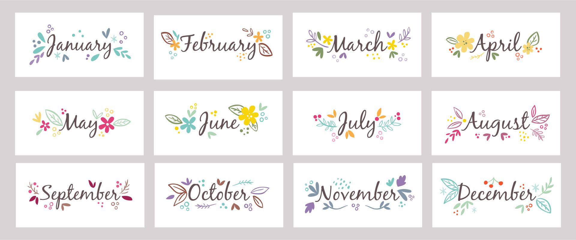 Number Names Worksheets : printable days of the week chart ...