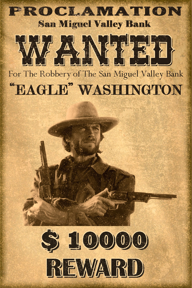 Images of Free Printable Western Wanted Posters - Printable Wanted ...