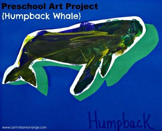 Preschool Whale Art