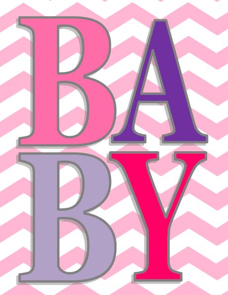 Printable Baby Girl Room