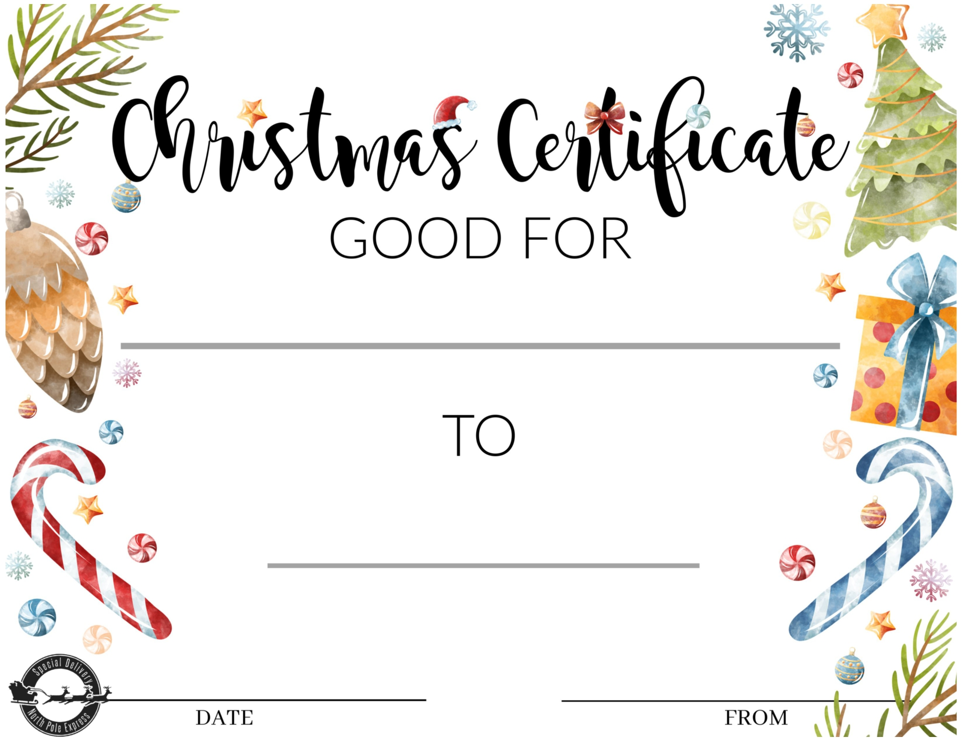 downloadable gift certificate template - 5 best images of printable massage gift certificate