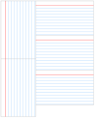 9 best images of printable index cards with lines for Index card template for pages