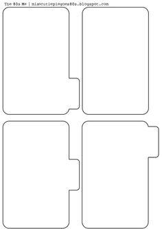 9 best images of printable mini binder divider tabs printable binder divider tabs free. Black Bedroom Furniture Sets. Home Design Ideas