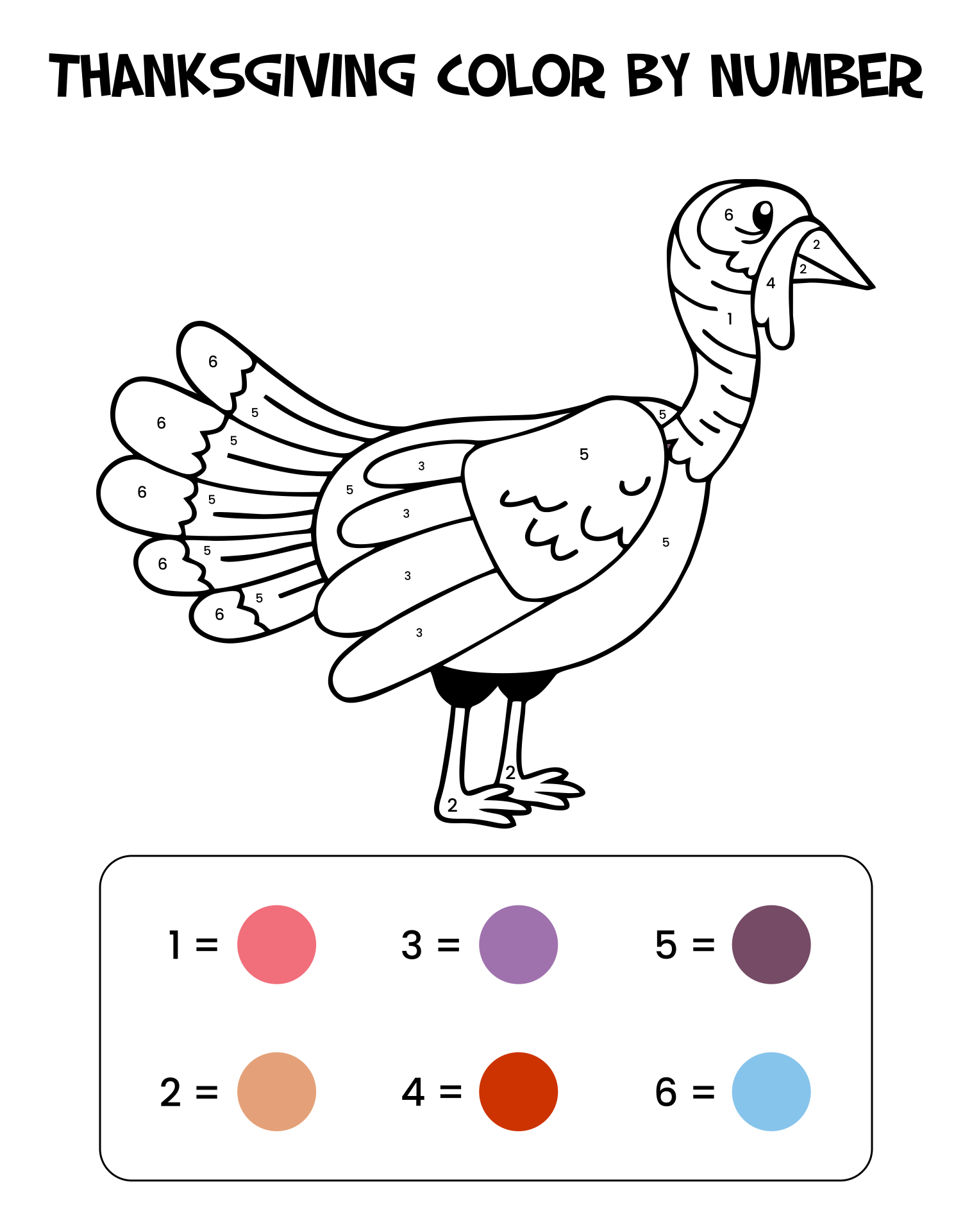 7 Images of Free Thanksgiving Printables