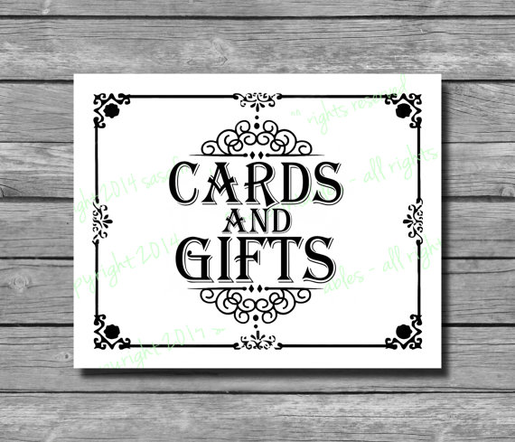 8 Best Images Of Printable Cards For Weddings Sign