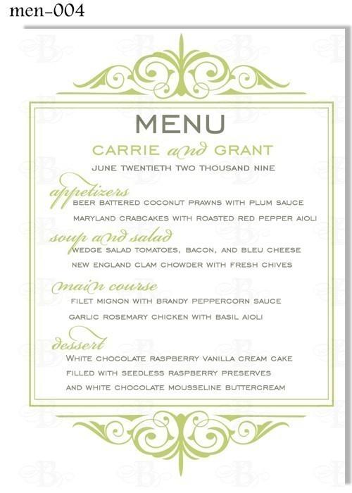 6 best images of free printable dinner menu cards dinner menu card template bridal shower. Black Bedroom Furniture Sets. Home Design Ideas