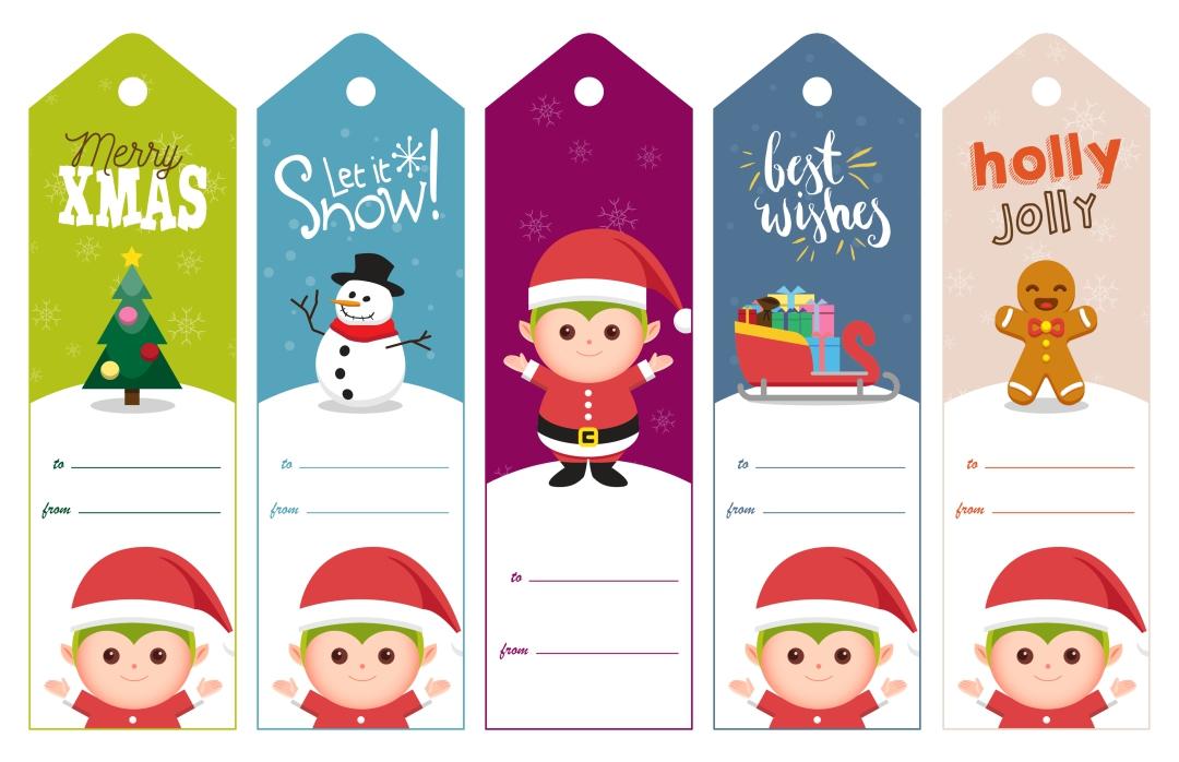 6 Images of Funny Printable Christmas Tags