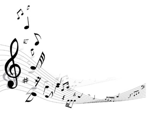 8 Images of Musical Notes Free Printable Borders