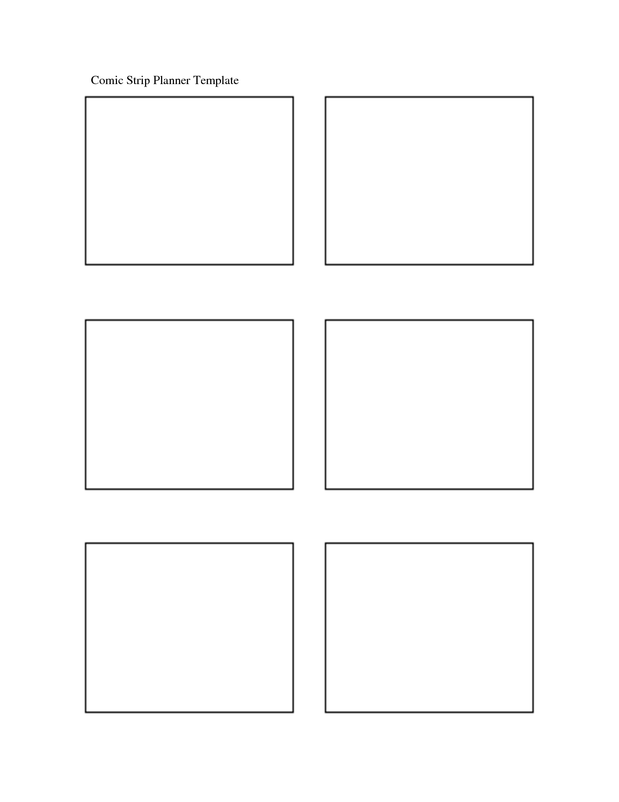 comic strips blank comic strip templates printable blank comic book