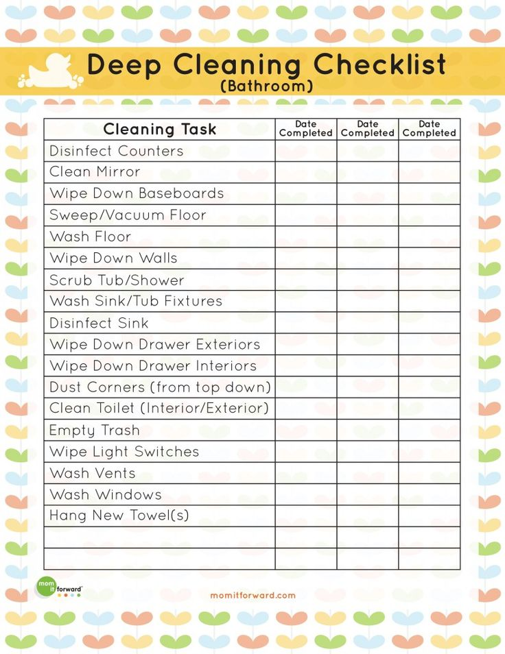 8 Best Images of Restroom Cleaning Checklist Printable Free  Kraus Bathroom  Sinks. Daily Toilet Cleaning Checklist