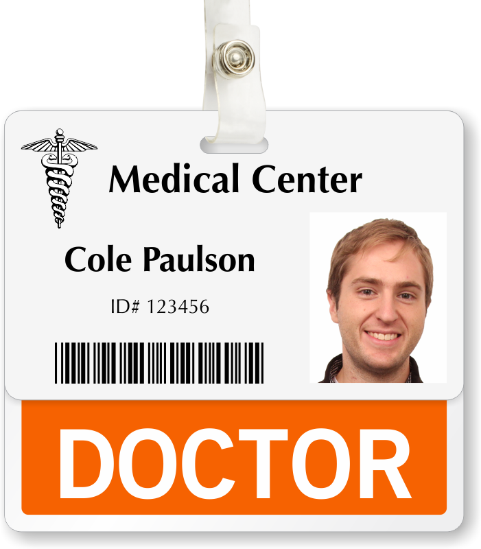 dr name tag template 7 best images of id name badge templates printable free