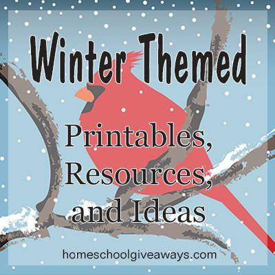 Free Preschool Winter Theme Printables