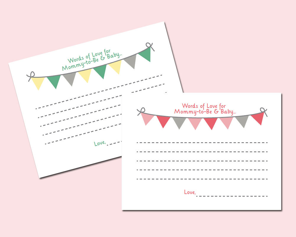 free printable baby shower advice free printable baby advice cards