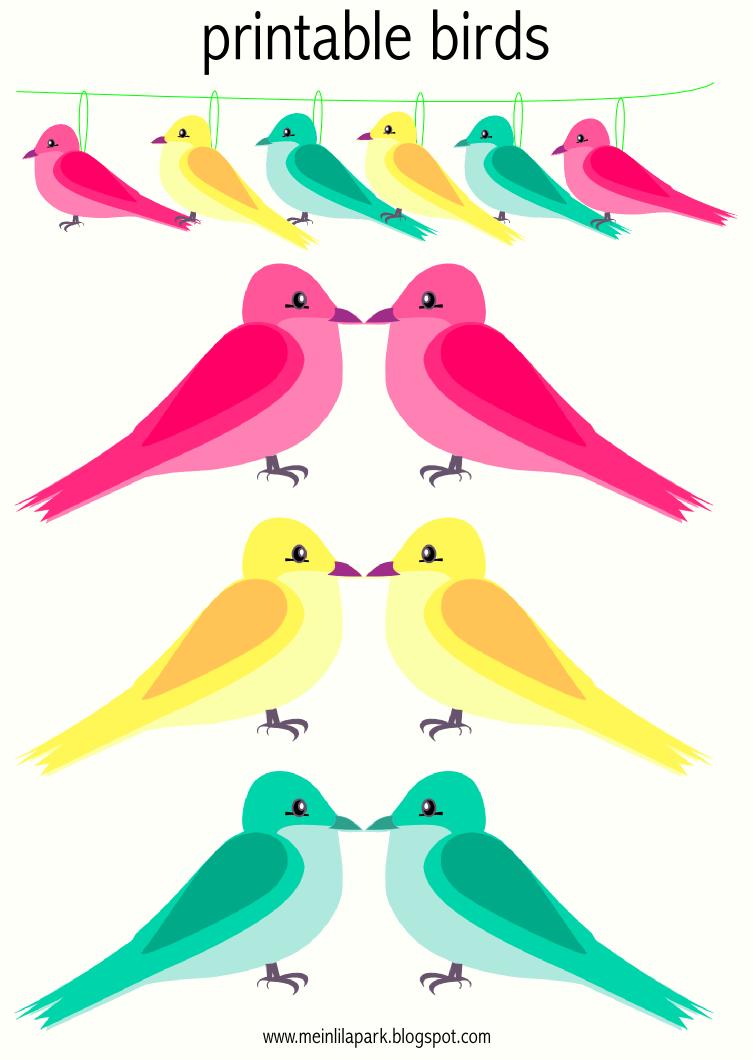 Free Printable Bird Borders
