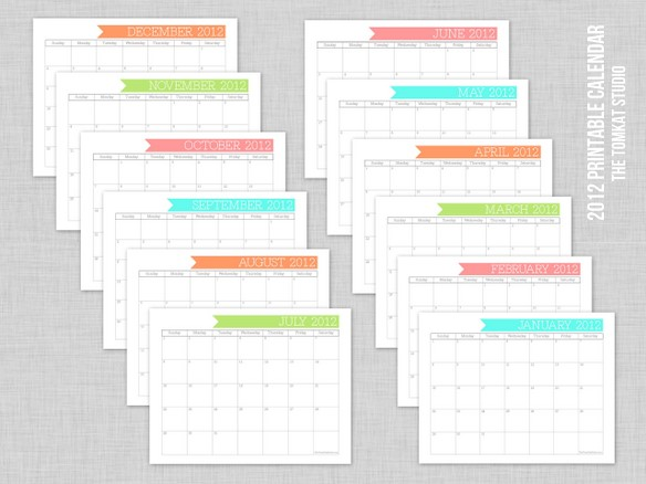 Cute Blank Monthly Calendar : Best images of free cute printable calendars blank