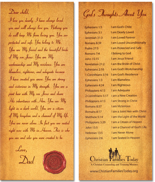 Free Printable Christian Bookmarks Templates