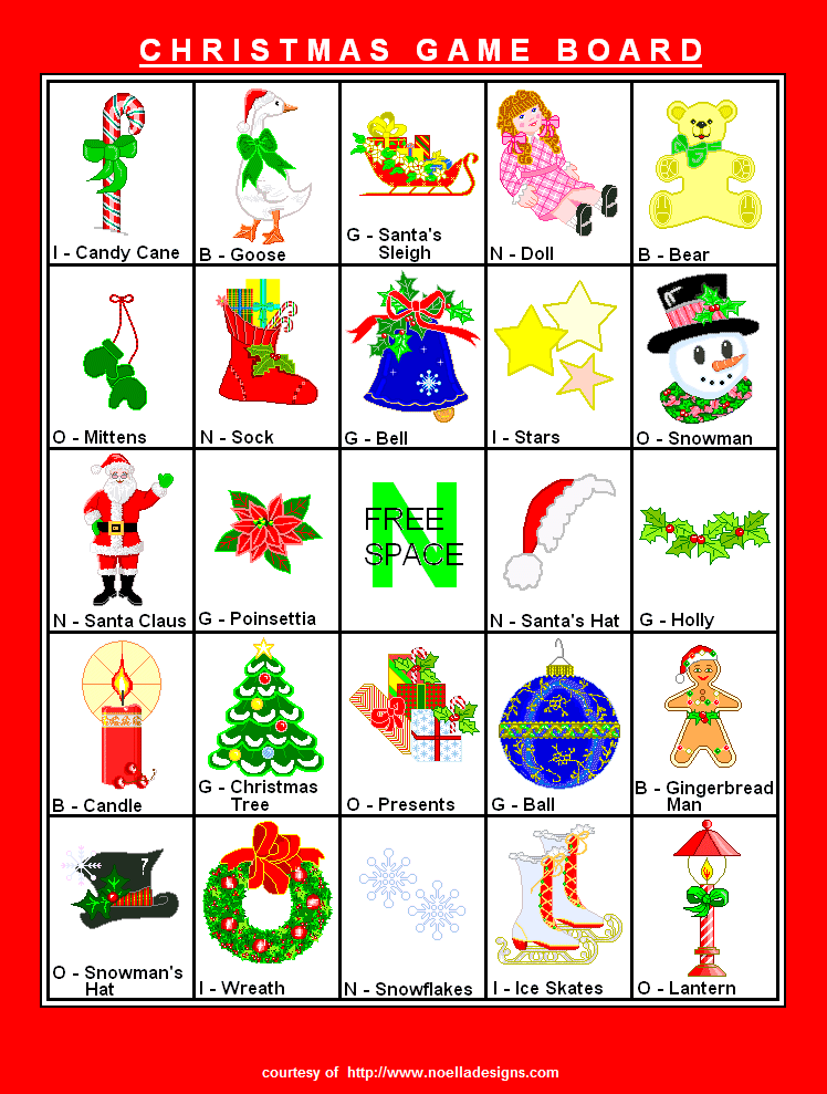8 Images of Printable Christmas Games For Groups