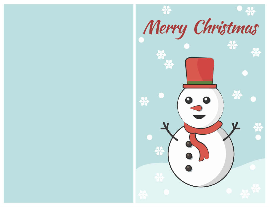 7 Images of Free Printable Greeting Cards Christmas