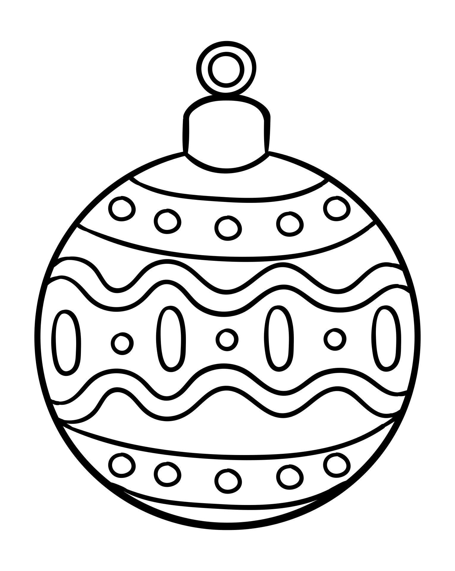 6 Best Printable Christmas Ornaments - Printablee.com