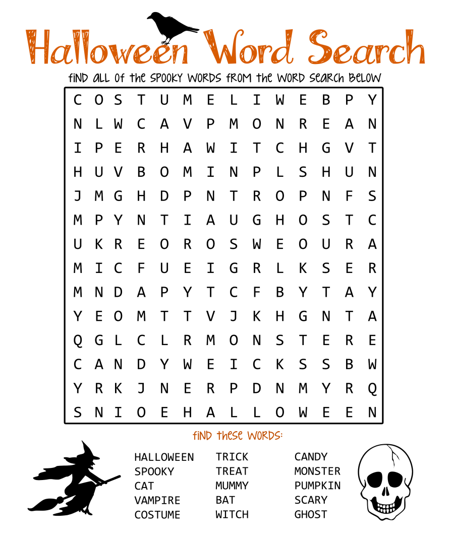 Worksheets Hard Word Searches Printable Worksheets 4 best images of printable halloween word search worksheets free puzzles