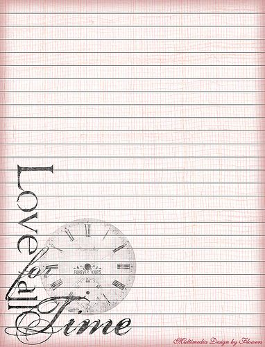 5 Images of Romantic Printable Stationery Paper