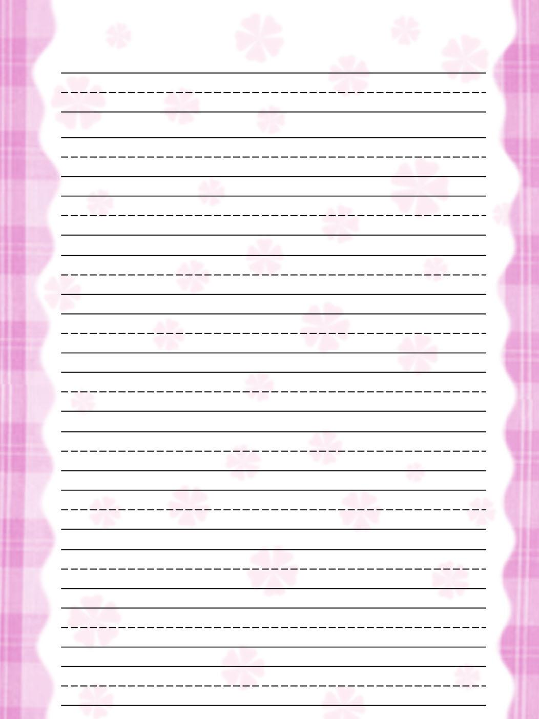 Blank Practice Writing Paper For Kindergarten - 5 best ... - photo#26