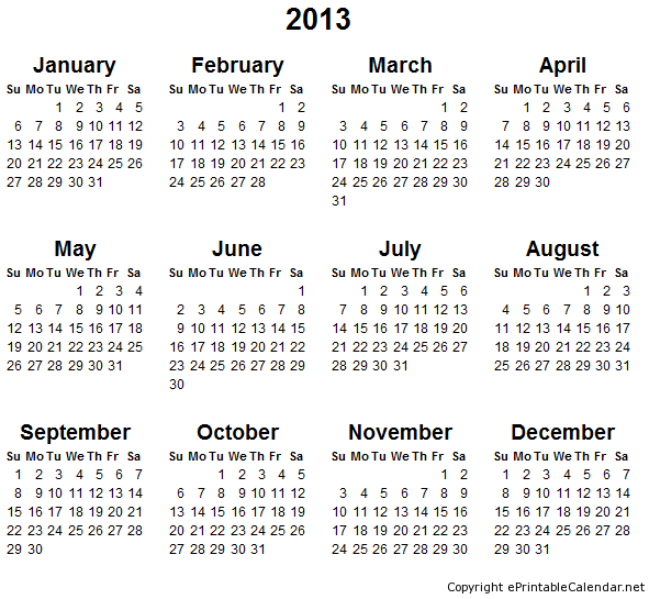 Monthly Calendar Half Page : Best images of yearly calendar large printable