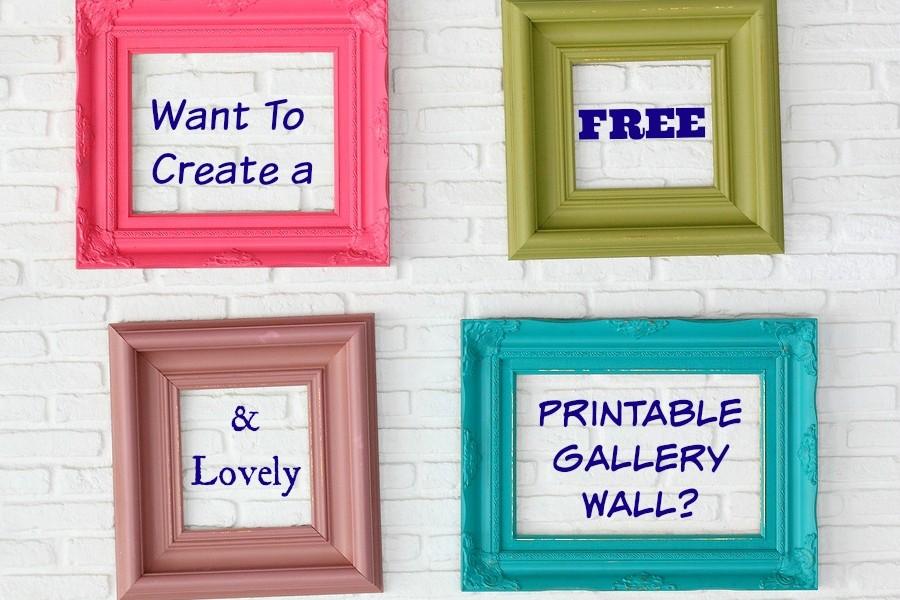 5 Images of Gallery Wall Free Printables Deer Head